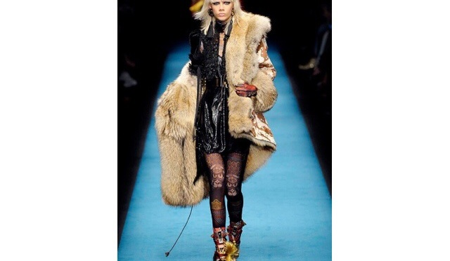 #MFW16 Dsquared2 Fall Winter Women's