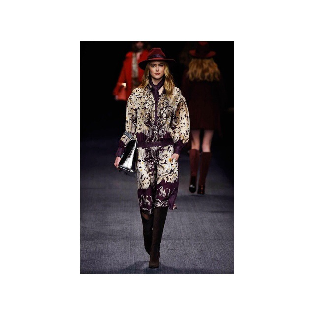 #MFW16 TRUSSARDI FALL WINTER WOMEN'S