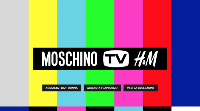 MOSCHINO [tv] x H&M #HMOSCHINOMILANO + LOOKBOOK