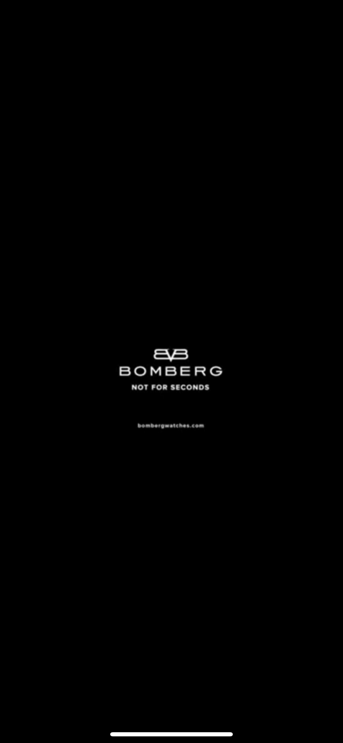 BOMBERG •NOT for Seconds•